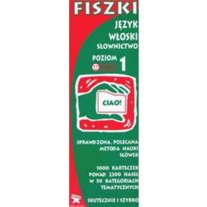 Fiszki. Język włoski. Słownictwo 1