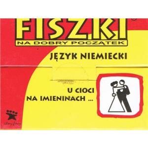 "Fiszki OOP. Mini Niemieckie nr 6 ""U cioci na imieninach..."""