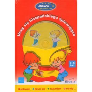 Uczę Się Hiszpańskiego Śpiewająco + CD  (3-6 Lat)