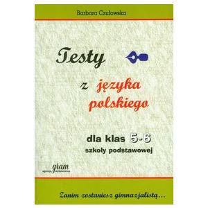 Testy z języka polskiego dla klas 5-6