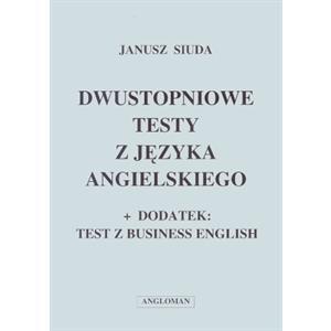 Dwustopniowe testy z języka angielskiego
