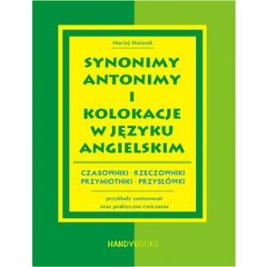 Synonimy, Antonimy i Kolokacje w języku angielskim OOP