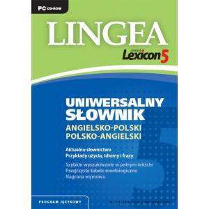 Uniwersalny Słownik Angielsko-Polsko-Angielski. Lingea Lexicon 5