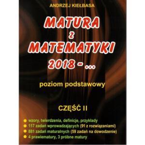 Matura z matematyki 2018 Zakres podstawowy cz. 2 Kiełbasa