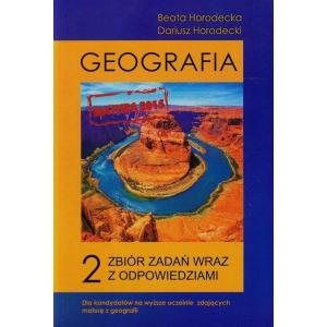 Geografia Społeczno-Ekonomiczna Tom 2 Zbiór Zadań Wraz z Odpowiedziami Poziom Podstawowy i Rozszerzony
