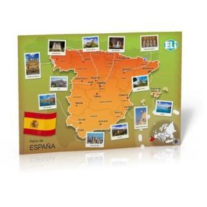 POSTER Mapa de Espana