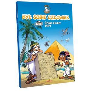 Byl sobie człowiek tom 2 Żyzne doliny Egipt /komiks/ + DVD