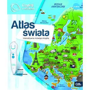 Czytaj z Albikiem. Atlas Świata. Interaktywna mówiąca książka
