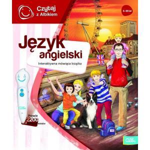 Czytaj z Albikiem. Język angielski. Interaktywna mówiąca książka  (nie zawiera pióra)