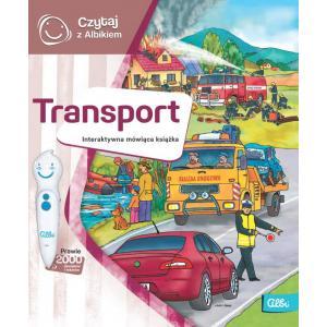 Czytaj z Albikiem. Transport. Interaktywna mówiąca książka