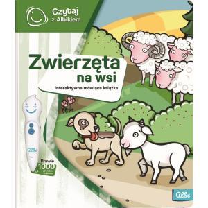 Czytaj z Albikiem. Zwierzęta na wsi. Interaktywna mówiąca książka