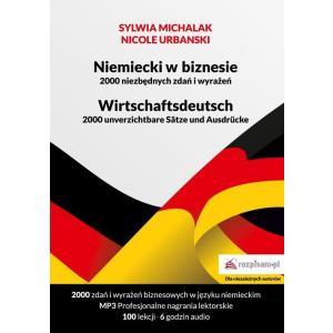 Niemiecki w biznesie. 2000 niezbędnych zdań i wyrażeń