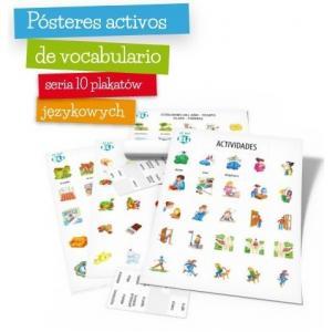 Plakaty - język hiszpański. Zestaw 12 plakatów tematycznych