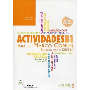 Actividades para el MCER B1 książka + CD