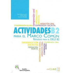 Actividades para el MCER B2 książka + CD