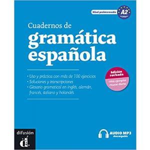 Cuadernos de Grammatica Espanola A2 + audio online