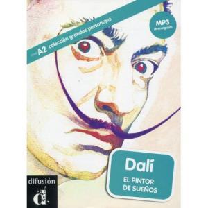 LH Dali El pintor de suenos książka + MP3 online A2