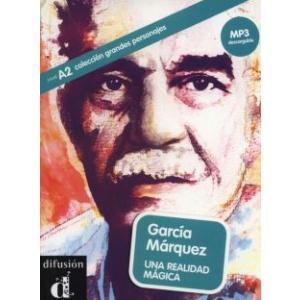 LH Garcia Marquez Una realidad magica książka + MP3 online A2