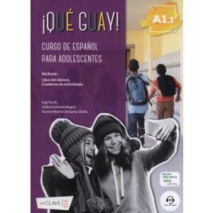 Que guay! A1.1 podręcznik + ćwiczenia + audio online
