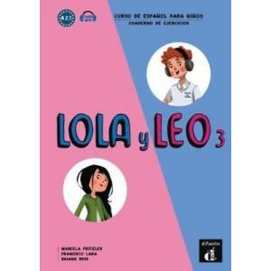 Lola y Leo 3. Curso de espanol para ninos. Cuaderno de ejercicios. Ćwiczenia A 2.1