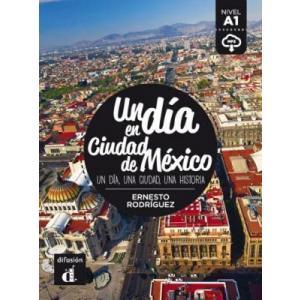 LH Un dia en Ciudad de Mexico książka + CD A1
