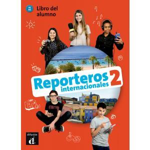 Reporteros Internacionales 2. A1-A2. Podręcznik ucznia + CD