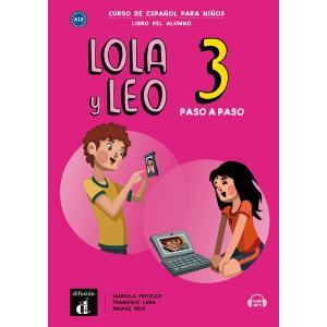 Lola y Leo paso a paso 3. Język hiszpański. Podręcznik