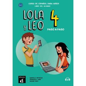 Lola y Leo paso a paso 4. Język hiszpański. Podręcznik