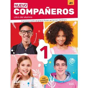 Nuevo Companeros 1 podręcznik + licencia digital  3 edicion
