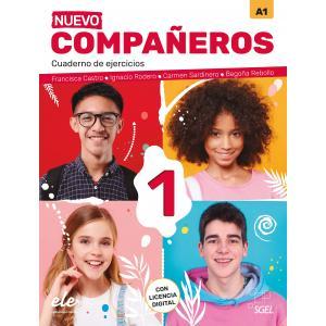 Nuevo Companeros 1 ćwiczenia + licencia digital 3 edicion