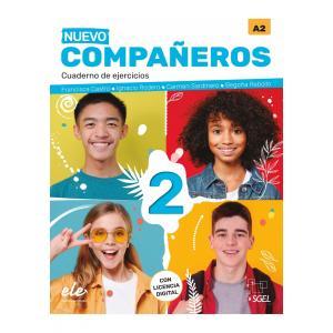 Nuevo Companeros 2 ćwiczenia + licencia digital 3 edicion /2021/