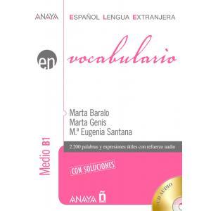 Vocabulario. Medio B1. Podręcznik z Kluczem + CD