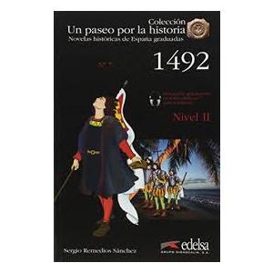 Un paseo por la historia 1492 książka + audio online Nivel 2