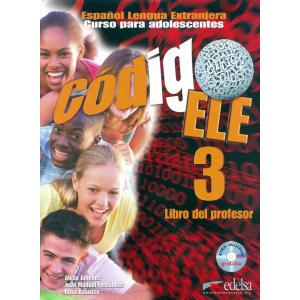 Codigo ELE 3 przewodnik metodyczny + CD
