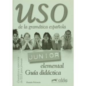 Uso de la Gramatica Junior Elemental Profesor OOP (materiał dostepny online)