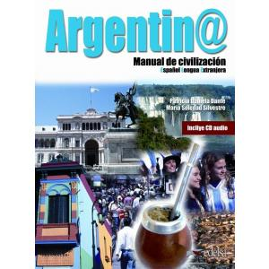 Argentina manual de civilizacion podręcznik + CD