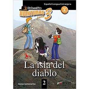 Aventuras para 3. La isla del diablo książka + audio online A1/A2