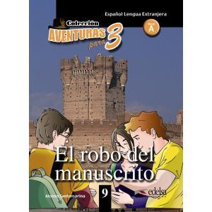 Aventuras para 3. El robo del manuscrito książka + audio online A1/A2