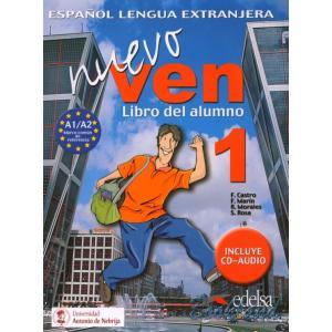 Ven Nuevo 1 podręcznik + CD