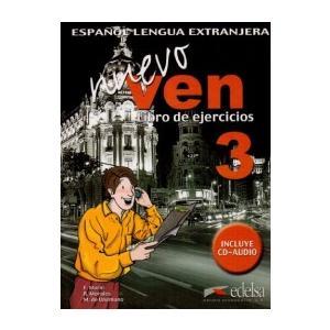 Ven Nuevo 3 ćwiczenia + CD