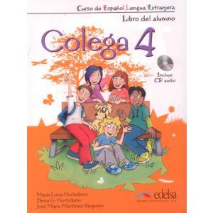Colega 4. Podręcznik z Ćwiczeniami + CD