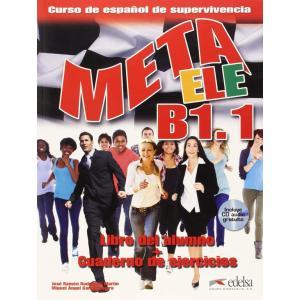 Meta ELE B1.1 podręcznik + ćwiczenia + CD
