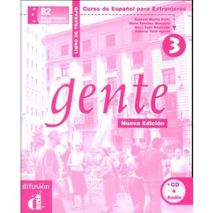 Gente 3. Ćwiczenia + CD