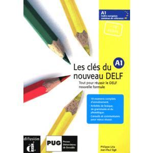 Les Cles du Nouveau Delf 1 podręcznik z CD