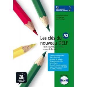Les Cles du nouveau DELF 2 podręcznik +CD
