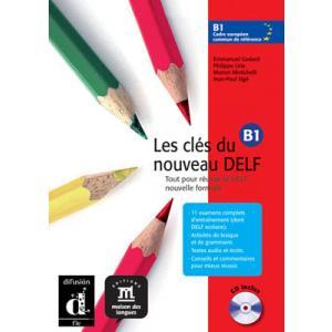 Les Cles du Nouveau Delf 3 podręcznik z CD