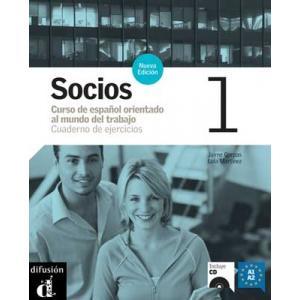 Socios 1. Ćwiczenia + CD
