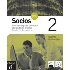 Socios 2. Ćwiczenia + CD