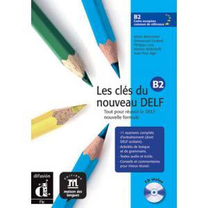 Les Cles du Nouveau Delf 4 podręcznik z CD