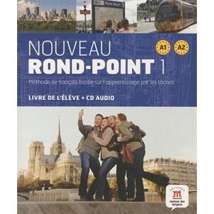 Nouveau Rond-Point 1 (A1+A2). Podręcznik + CD